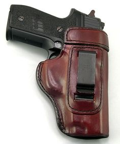 This is a Don Hume H715M W/C clip-on IWB holster for my Sig P228. For the money, it's one of the best holsters I ever bought. Got it from www.gunnersalley.com
