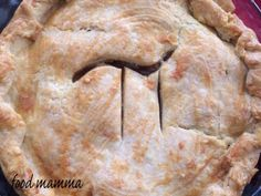 Apple Pie with a Cheddar Crust for Pie Day!