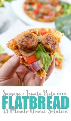 Make this delish dinner in about 15 minutes thanks to scrumptious and flavor packed al fresco chicken sausage. Cholesterol Lowering Foods, Cholesterol Symptoms, Cholesterol Levels, Sundried Tomato Pesto, Best Dinner Recipes, Lunch Recipes, Delicious Recipes, Sausage Recipes, Pizza Recipes