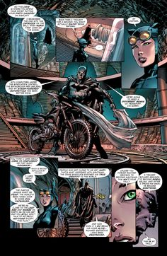 Forever Evil #4, New 52, Batman reveals Batcave to Catwoman