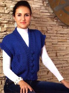 34 fantastiche immagini su gilet a maglia nel 2020 | Gilet a