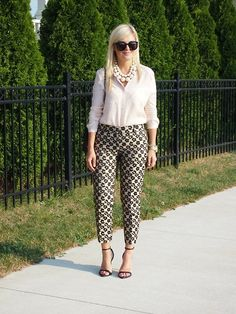 Moiology: Meet My Friend: Krystin from Suburban Faux-Pas Business Outfits, Office Outfits, Stylish Outfits, Fall Outfits, Cute Outfits, Business Attire, Business Clothes, Formal Outfits, Business Casual