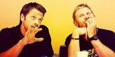 Misha and Mark Pellegrino