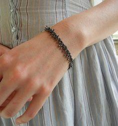 Sterling Silver Nettle Bracelet