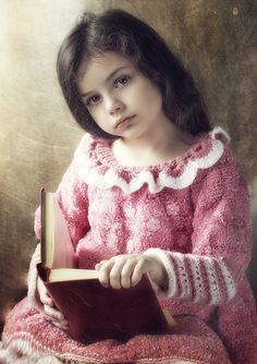 the girl with a book (by Alexandra Bochkareva)