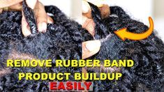 How to Easily Remove Product Buildup from Rubber band Elastics Natural Hair Care Tips, Natural Hair Styles, Long Hair Styles, 9 Year Olds, Rubber Bands, Arm Warmers, Her Hair, How To Remove, Kid Hairstyles