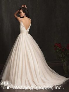 Allure  9067 Bridal Gown.  Lasting Memories Weddings and Events can help you prepare to take a walk down the aisle in this beautiful gown. lastingmemoriesep.com