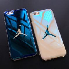 Fashion Jordan Sky Man Blu-ray Phone Cases For iphone 6 6s Plus Fundas Soft Thin Back Cover Case For iphone 7 7 Plus Cover Capa