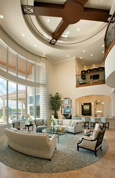 Luxury House Interior Design Tips And Inspiration Home Living Room, Living Room Designs, Living Room Decor, Living Spaces, Beautiful Interiors, House Rooms, Luxury Living, Great Rooms, My Dream Home