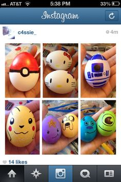 Love the pokeball! Could make some for boys baskets and fill with money.