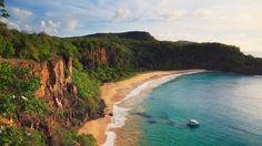 Top 10 beaches in the world, South Pacifc and Australia (pictured: Sancho Bay, Fernando de Noronha, Brazil) Bahamas Pictures, Beach Pictures, Best Beaches To Visit, Places To Visit, Beach List, Australia Pictures, Island Holidays, Beaches In The World, Beach Photography