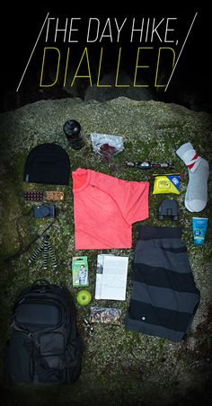 What to pack for a day hike. Good article from #Lululemon