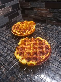 A Cheese waffle. A waffle made primarily out of cheese and egg. It's actually pretty simple and there are many various recipes out there. Coconut Oil Spray, Coconut Flour, Almond Flour, Psyllium Husk Powder, Cheese Waffles, Sugar Free Syrup, Burger Buns, Brain Food, Low Carb
