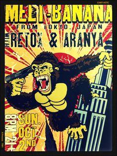 Melt-Banana is a Japanese noise rock band