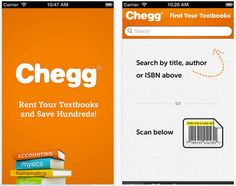 Chegg | 18 Apps Every College Student Should Download Right Now