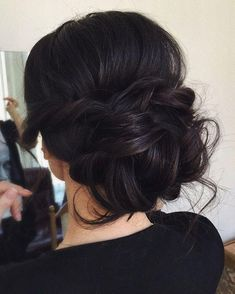 Image result for updos for thick hair