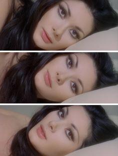 "- Edwige Fenech in ""Alle Farben der . - Make up - Fotoshooting Makeup Inspo, Makeup Art, Makeup Inspiration, Makeup Tips, Hair Makeup, Doll Eye Makeup, Vintage Makeup Looks, Retro Makeup, Cute Makeup"