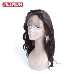52.70$  Buy now - http://alirby.worldwells.pw/go.php?t=32777164711 - Hot Sale 360 Lace Virgin Hair 360 Lace Frontal Brazilian Virgin Human Hair Body Wave 8A Lace Frontal Closure With Baby Hair 52.70$