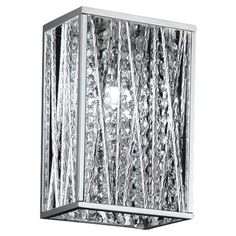 """Features:  -1x60W G9.  -C-UL-US-Damp.  Product Type: -Flush Mount.  Style: -Glam.  Finish: -Chrome.  Fixture Material: -Other/Stainless Steel. Dimensions:  Overall Height - Top to Bottom: -9.25"""".  Ove"""