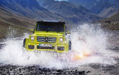 Mercedes G Class to get 4.0 litre twin turbo V8