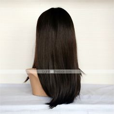 long straight full lace wigs