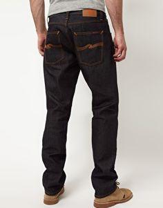 Enlarge Nudie Big Bengt Dry Dirt Organic Loose Tapered Jeans