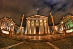 GREECE CHANNEL   Academy of Athens by Dimitris Kozadinos on 500px