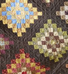 Granny Squares feather square quilting inspiration for Julia's floral bouquet
