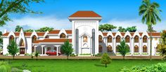 Mount Carmel Cloisture convent at Malayattoor by Mathewandsaira Architects in Cochin
