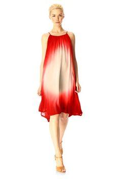 Sun Gaze Halter Dress - Dresses - French Connection
