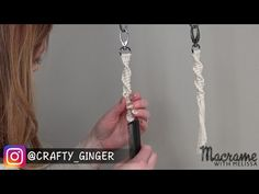 #2 of 4: DIY Macrame Tutorial: Macra-Mini Key Chain for Beginners - YouTube