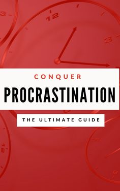 """Introducing """"Ultimate Guide to Conquer Procrastination"""". This Book Allows You To Beat Your Procrastination For GOOD. Experience Ultra-Focus, and Get More Things Done So You Can Radically Increase Your Life Success Without Willpower or Hard Work! Time Management Techniques, Time Management Tips, Grounding Exercises, Essential Oils For Stress, Motivational Posts, Inspirational Quotes, Stress Relief Tips, How To Stop Procrastinating, Deep"""
