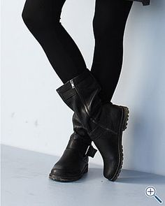 Gentle souls buckled up boots fisher eileen fisher and for Eileen fisher motor boots