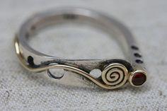 Stackable Ring, Garnet