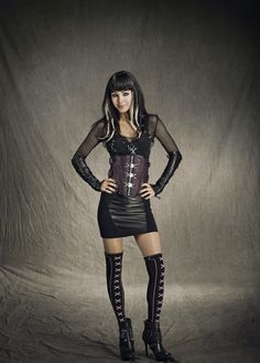 Kenzi from Lost Girl she makes this show....too funny