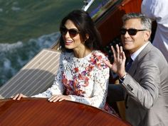 George Clooney's married! Live stream of Venice town hall where actor and Amal will celebrate civil wedding - Irish Mirror Online