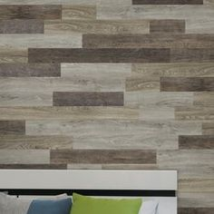 "Allure Flooring Allure Wall Planks 5"" x 48"" Peel and Stick Vinyl Wall Paneling & Reviews Stick On Wood Wall, Peel And Stick Wood, Reclaimed Wood Wall Panels, Reclaimed Barn Wood, Rustic Wood, Vinyl Wall Panels, Wood Panel Walls, Allure Flooring, Smooth Concrete"