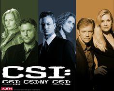 Except for CSI, Loved me some CSI: Miami and CSI:NY