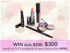 Be 1 of 3 lucky ELES fans who'll get to win up to $300 worth of ELES products of her choice! See competition mechanics here ►