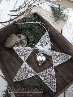 @ nelly vintage home: a gift for a friend - lace star