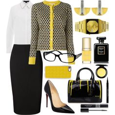 STYLED FOR BUSINESS by qstyled on Polyvore featuring Alexander Wang, Marni, Victoria Beckham, Christian Louboutin, Furla, Seiko, Casetify, Gucci, MAC Cosmetics and Givenchy