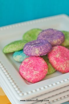 Almond Sugar Cookies I Tastes of Lizzy T I