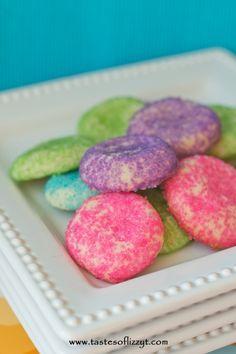 Almond Sugar Cookies I Tastes of Lizzy T I