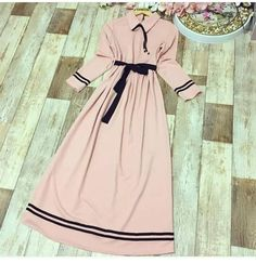 Dress With Sleeves Formal Modest Wedding Hijab Style Dress, Modest Fashion Hijab, Abaya Fashion, Muslim Fashion, Fashion Dresses, Stylish Dresses For Girls, Stylish Dress Designs, Designs For Dresses, Casual Dresses