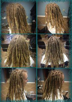 Before & After maintenance #dreadlocks #caucasiandreadlocks #georgiadreadheads #dreadlockmaintenance #professionaldreadlocks #dreadlocksinsuwanee #dreads #dreadlocksalon