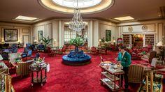 Hall del Hotel Wellington de Madrid