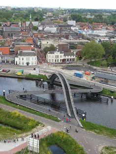 Melkweg Bridge, Halsteren, The Netherlands.