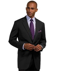 Dress for success with classic men's suits and suit pants from Brooks Brothers in checks, plaids, solid colors, stripes and more. Three Piece Suit, 3 Piece Suits, Sharp Dressed Man, Well Dressed Men, Black Suits, Black And Navy, Modern Outfits, Stylish Outfits, Charcoal Suit