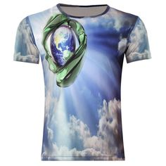 Short Sleeve 3D Graphic Speed Dry T-Shirts