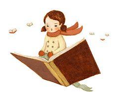 Nursery Art - Fly Away With A Book 14x11 - Book Art, Children's Art, Kids Wall Art, Book, Library Decor, Cute, Book Lover, Bookworm, Reading